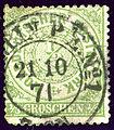 1871 NDPB BERLIN PEN°1 Mi14.jpg