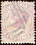 1883ca 2d lilac Victoria blue oval 31 Yv77 Mi83.jpg