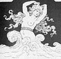 1893-1894, Almanaque Sud-americano, La hija de las flores, Apeles Mestres (cropped).jpg