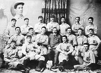 Baltimore Orioles (1882–99) - The 1896 Baltimore Orioles