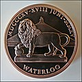 18 June 1815 – Victory at Waterloo – Commemorative Medal 2015.jpg