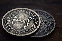 Monnaie de n cessit wikip dia for Chambre de commerce de france bon pour 2 francs 1923