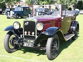 Austin 16 - Image: 1932 Austin 166 Open Road Tourer 192394996
