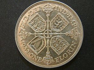 Florin (British coin) - The 1932 florin