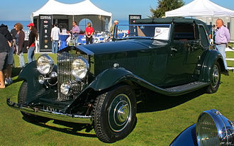 J Gurney Nutting & Co - Rolls-Royce Phantom II Continental 1933 coupé de ville