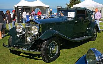 J Gurney Nutting & Co Limited - Rolls-Royce Phantom II Continental 1933 coupé de ville