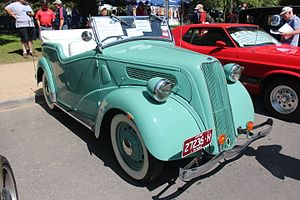 Ford 7Y - Ford 8hp E94A Roadster