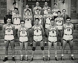 best website 01b67 8c1cc 1942–43 Georgetown Hoyas men's basketball team - Wikipedia