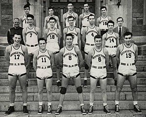1942 43 Georgetown Hoyas Mens Basketball