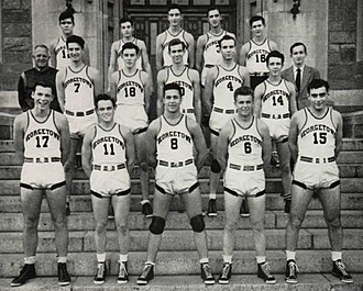 1942–43 Georgetown Hoyas men's basketball team - Image: 1943 Georgetown Hoyas