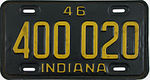 1946 Indiana license plate.JPG