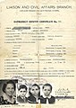 1949 stateless travel document used by Karl Sidor's family to leave Italy for Canada.jpg