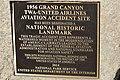 1956 Grand Canyon mid-air collision NRHP plaque.jpg