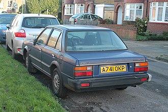 Triumph Acclaim - 1984 Triumph Acclaim HLS Trio-Auto rear