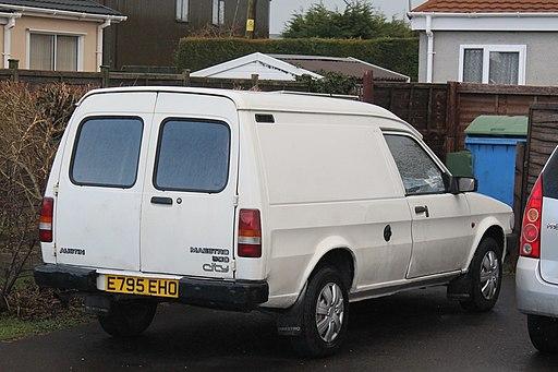 1987 Austin Maestro 500 City Van (13040837994)