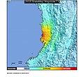 1991 Chocó earthquake ShakeMap.jpg