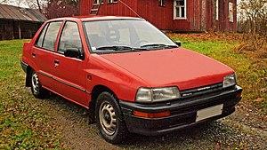 Daihatsu Charade - 1991–1993 Daihatsu Charade (G102) sedan