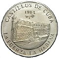 1 песо. Куба. 1984. Крепости - Ла-Фуэрса.jpg