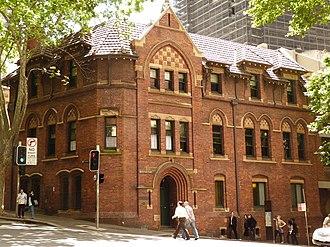 Grosvenor Street, Sydney - Image: 1 St Patricks Presbytery