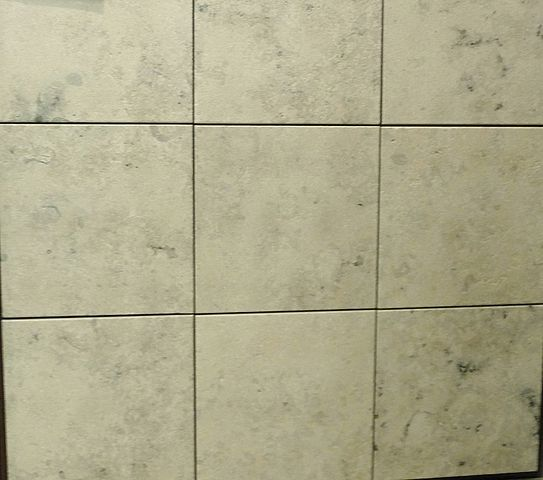 Blue Grey Jura Limestone which has been sandblasted