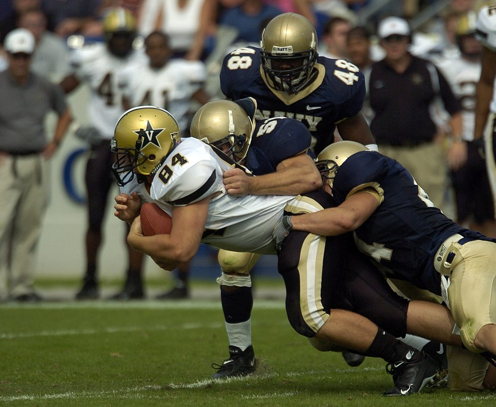2004 Vanderbilt-Navy Game TE