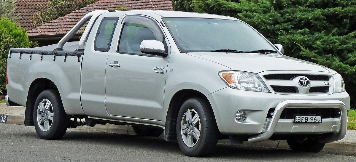 Toyota Hilux  U2014 Wikip U00e9dia