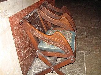 Theta Tau - Ecc. 9:10 chairs in Irish Cathedral