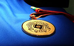 2006 World Baseball Classic gold medal (close view).jpg