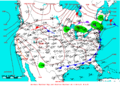 2009-06-29 Surface Weather Map NOAA.png