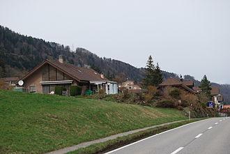 Rümligen - Houses in Rümligen village