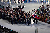 2010 Opening Ceremony - Norway entering.jpg