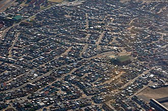 Crossroads, Cape Town - Aerial view of Crossroads
