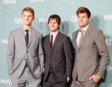 2011 MuchMusic Video Awards - Foster the People.jpg