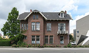20120623 Vm directeurswoning slachthuis Damsterdiep Groningen NL (1).jpg