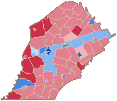 2012 United States presidential election in Chester County