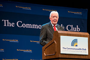 Commonwealth Club of California - Former U.S. President Jimmy Carter speaking at the Commonwealth Club in 2013