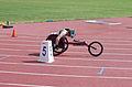 2013 IPC Athletics World Championships - 26072013 - Angela Ballard of Australia during the Women's 400M - T53 first semifinal 10.jpg