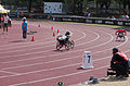 2013 IPC Athletics World Championships - 26072013 - Angela Ballard of Australia during the Women's 400M - T53 first semifinal 18.jpg
