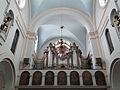 2013 Pipe organs of Saint Benedict church in Płock - 02.jpg