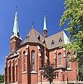 2013 Trzyniec, Stare Miasto, Kościół św. Alberta 04.jpg
