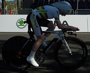 2013 UCI Road World Championships – Women's junior time trial - Alexandra Manly won bronze.