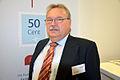 2013 auf der Wirschaftsmesse Hannover, Stand Mediengruppe Madsack, Detlev Schlote, Ansprechspartner und Verkaufsberater für die Geschäfts- und Privatkunden von Citipost.de.jpg
