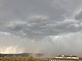 2014-07-20 14 59 08 Blowing dust along the outflow boundary of a thunderstorm in Elko, Nevada.JPG