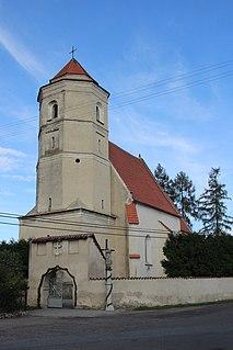 Radzikowice Village in Opole, Poland