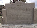 2014-09-08 13 30 38 Historical marker for Austin, Nevada along U.S. Route 50.JPG