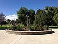 2014-09-21 14 44 16 Circle garden in the Kelly Ostler Horizon Hospice Memorial Rose Garden in the main city park of Elko, Nevada.JPG