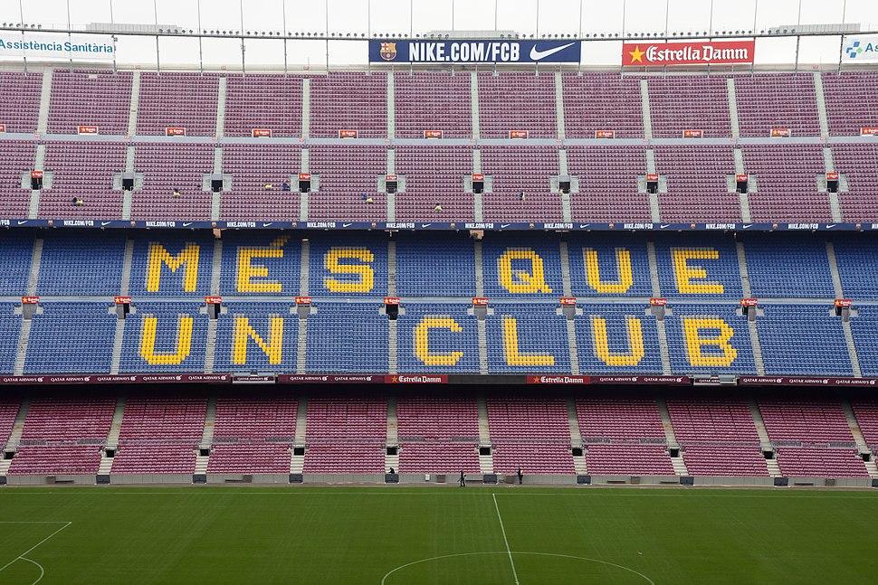 2014. Més que un club. Camp Nou. Barcelona B38