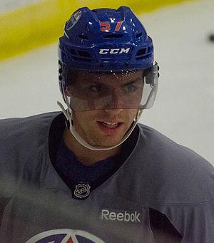 David Perron - David Perron during his stint with the Edmonton Oilers
