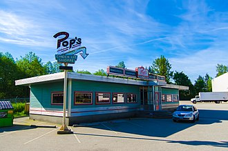 Riverdale (2017 TV series) - The Pop's Chock'lit Shoppe set in Vancouver, Canada
