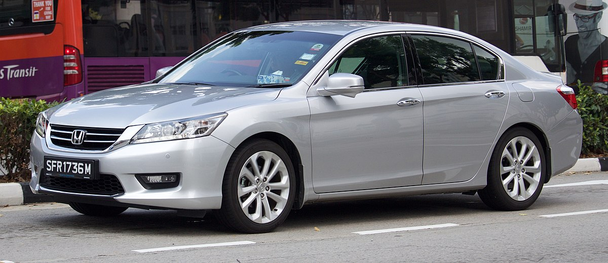 Honda Accord (ninth generation) - Wikipedia